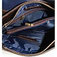 Кожаная мужская сумка – планшет Vatto, фото 10