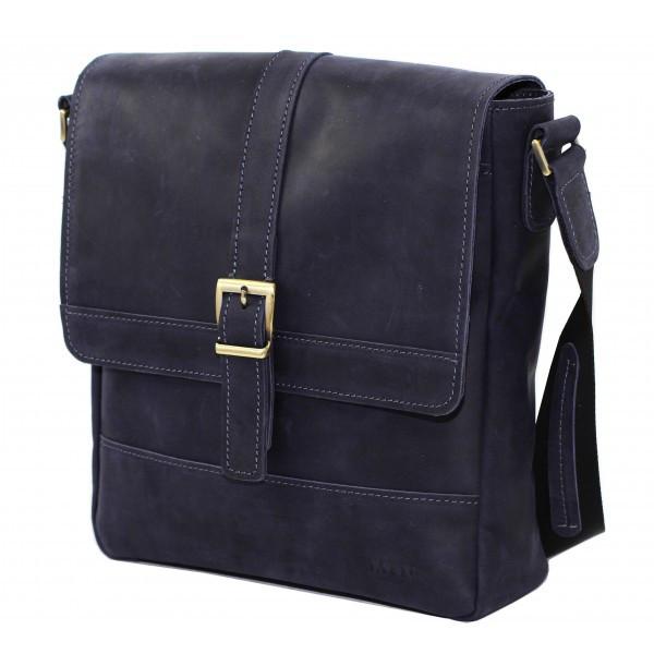 Кожаная мужская сумка – планшет Vatto