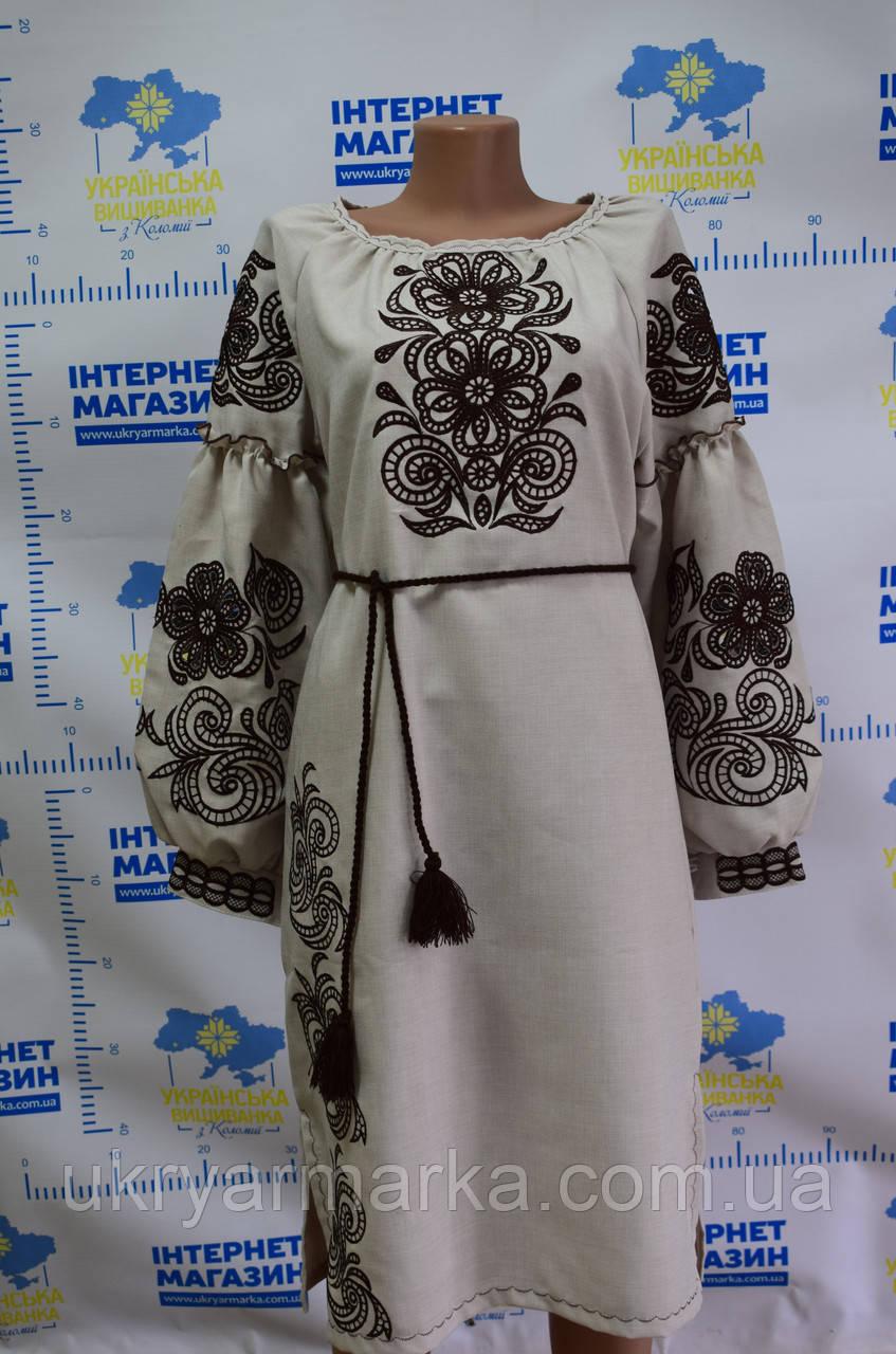 Вишите плаття в стилі етно