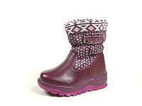 Детские зимние ботинки J&G:A-9176-12