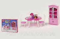 """Мебель для кукол """"Gloria"""" для столовой типа Барби 24011"""