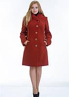 Пальто женское №9 (рыжий)