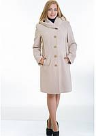 Пальто женское №9 (бежевый)