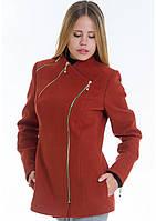 Пальто женское №5 (рыжий)