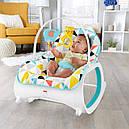 Кресло качалка шезлонг Мультиколор Fisher-Price Infant-to-Toddler Rocker, фото 8