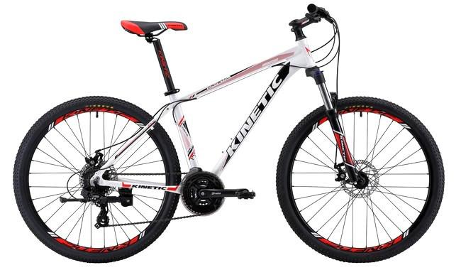 """Горный велосипед KINETIC CRYSTAL 29"""" 20""""  Белый/Красный"""