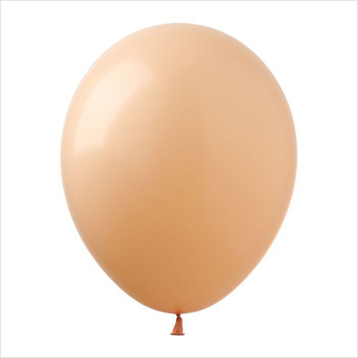 """Воздушные шары 12"""" пастель персиковый (peach) 100 шт Арт Шоу"""