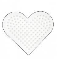 Поле для термомозаики Маленькое сердце midi Hama (236)