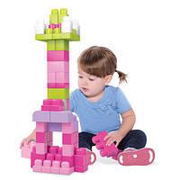 Конструктор Mega Bloks Розовый в мешке 60 деталей (DCH54)