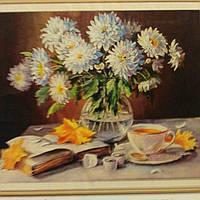 Алмазная картина цветы