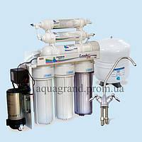 Система зворотнього осмосу Leader RO-6Pump з мінералізатором ( фільтри для води)