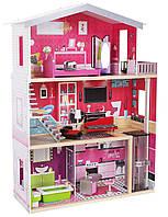 Игровой кукольный домик для барби EcoToys 4118 Malibu + лифт