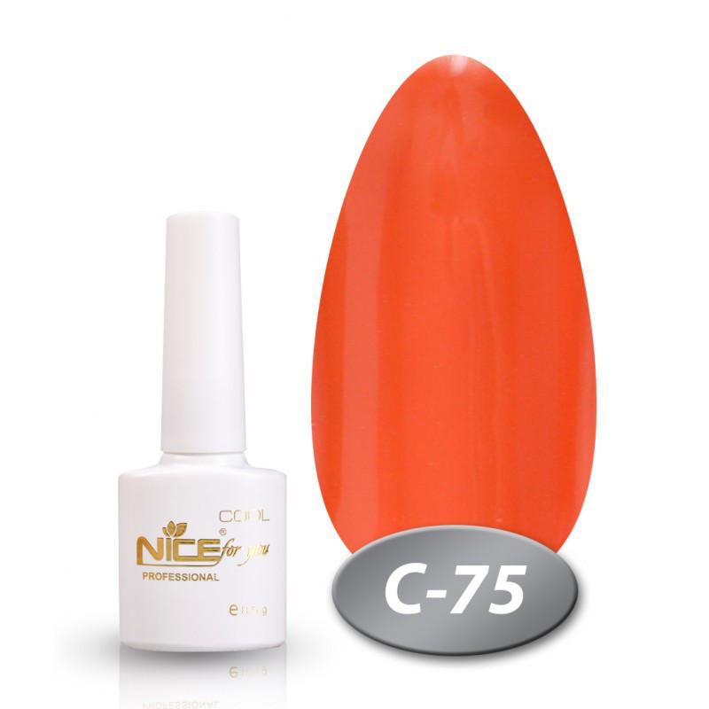 Гель-лак Nice for you Professional 8,5 ml №С75