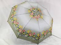 Женский зонт автомат с цветами № 762 от LANTANA