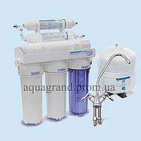 Система зворотного осмосу Aqualine RO-6 з мінералізатором ( фільтр для води)