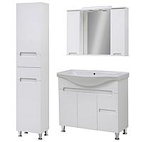 Комплект мебели для ванной комнаты Марко 85-Т-19 с зеркальным шкафом Z-11-85 Юввис
