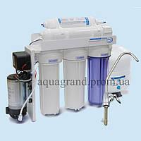 Система зворотного осмосу Aqualine RO-5Pump ( фільтр для води)