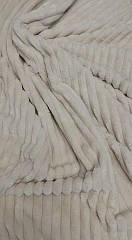 Плюш Minky Stripes (страйпс) слоновая кость