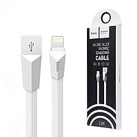 Кабель Hoco X4 Lightning iPhone white 1.2 метра