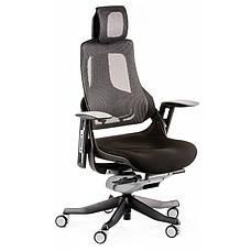 Кресло офисное Special4You WAU BLACK FABRIC, CHARCOAL NETWORK (Е0789), фото 2