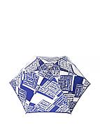 Зонт-мини механический Baldinini Сине-бежевый (46)