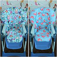 Двухсторонний чехол на стульчик для кормления Chicco Polly Magic