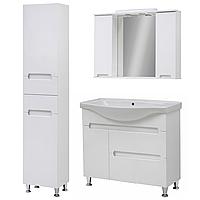 Комплект мебели для ванной комнаты Марко 95-Т-18 с зеркальным шкафом Z-11-95 Юввис