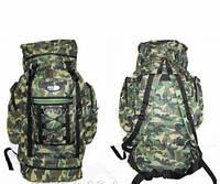 Рюкзак камуфляжный рыбалка, охота, для отдыха пикника Ding Zhi, хаки,65 литров