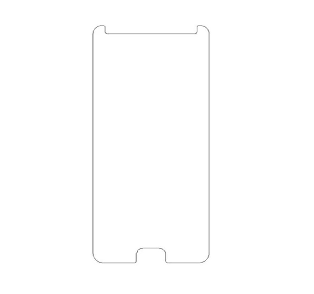 Захистне закалене скло для смартфону leagoo m7 5.5 дюйма