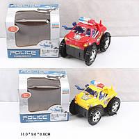 Перекидень Поліція (перевертыш) батар. 6288B/6688B 2 вида, в коробці 11*9*8 см