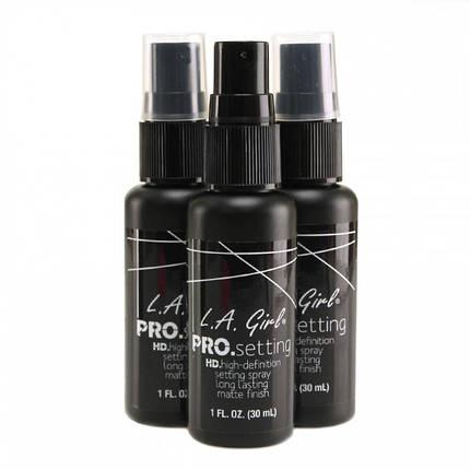 Фиксатор для макияжа LA Girl Pro Setting Spray, фото 2