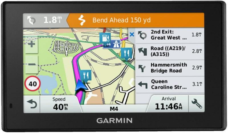GPS навигатор Garmin DriveSmart 50 EU LMT