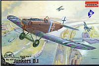 Сборная модель Roden Германский истребитель Junkers DI (RN434)