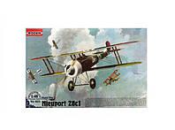 Сборная модель Roden Истребитель-биплан Nieuport 28c1 (RN403)