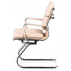 Кресло конференционное офисное Special4you Solano 3 office artleather bеigе (E5937), фото 2