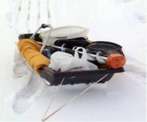 Санки Касатка для зимней рыбалки, для зимнего туризма., фото 2