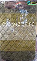 Набор ковриков для ванной и туалета 80*50, 40*50 зелёный