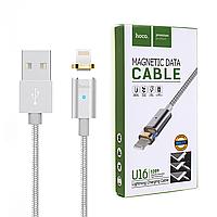 Магнитный кабель Hoco U16 Lightning iPhone 1.2 метра
