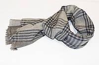 Кашемировая шаль CASHMERE SCARF Серо-коричневая (EXQ4012)