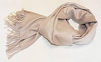 Кашемировый шарф SKY WOOL Бежевый (SW4701)
