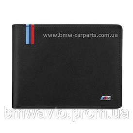 Кожаный кошелек  BMW M Wallet