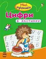 Клівенкова І.А. Міні-прописи: Цифри в клітинку