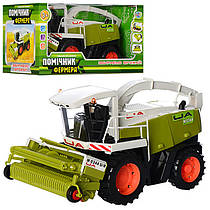 Комбайн Помощник фермера, в коробкеке 34-18-19см, M 0344 (7266)