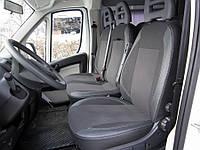 Citroen Jumper Чехлы на авто Экокожа+ткань