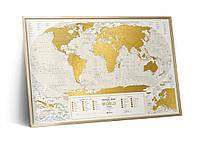 Скретч-карта Travel Map™ Geography World