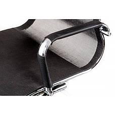 Кресло конференционное Special4You Solano office mesh black (E5869), фото 3