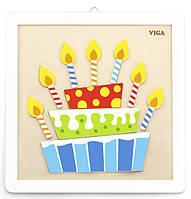Набор для творчества Viga Toys Своими руками Торт (50684)