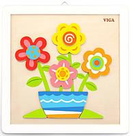 Набор для творчества  Viga Toys Своими руками Цветы (50685)