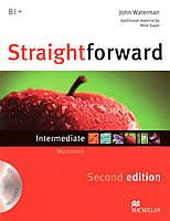 Straightforward Second Edition Intermediate Workbook without key with Audio-CD (Рабочая тетрадь)