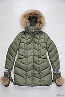 Пальто зимнее с варежками для девочки (164 см)  Snowimage 2125000498478